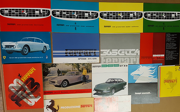 Ferrari Brochures